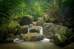 Kathu Waterfall number 3 (raypokai) Tags: kathu phuket thailand waterfall fujixt1