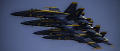 Blue 1-4 (mtalplacido) Tags: wingsoverhouston airshow blueangels theblueangels navy navalaviation navyblueangels f18hornet