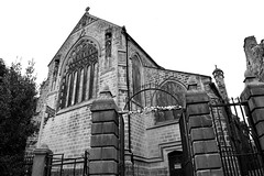 St Michael and All Angels' Church Haworth (jennymiles3) Tags: elements church haworth black white