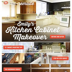 Thanks @diynetwork for the huge project feature in this week's #maderemade email!
