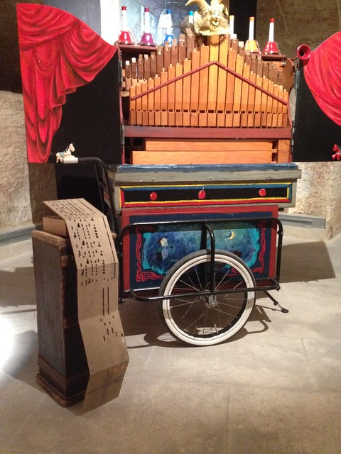 Limonaire et orgue de barbarie