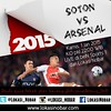 Lokasi Nobar: Ikuti quiz tebak skor kerjasama dengan @ArsenalNews_IND Southampton vs ARSENAL, Kamis 1 Jan 2015 KO pkl 22:00 WIB. LIVE di beIN Sports 1