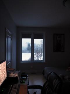 winter evening... framed (1)