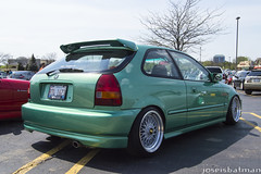 EK Hatch (TheEnemyPhotos) Tags: street chicago honda photos nation super civic ek hatch flush bbs enemy jdm hella hatchback slammed stance the illest fitment jdmc fatlace lightsan jdmchicago canibeat sntrl joseisbatman theenemyphotos