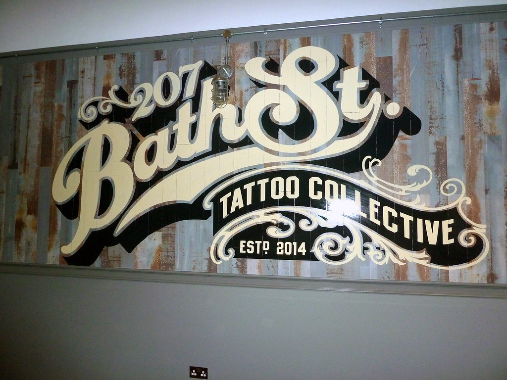The world 39 s best photos of signage and tattoo flickr for Street sign tattoos