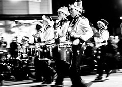 christmas street urban blackandwhite bw blackwhite band streetshots streetscene parade urbanjungle bnw streetwear elkgrove drumline urbanlife stre urbanshots