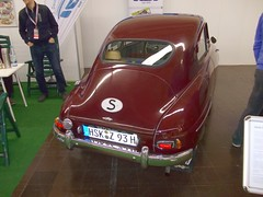 SAAB 93A 1957 (Zappadong) Tags: auto classic car essen automobile voiture coche classics 1957 techno oldtimer 93 saab oldie carshow 93a 2014 youngtimer automobil classica oldtimertreffen zappadong buckelsaab