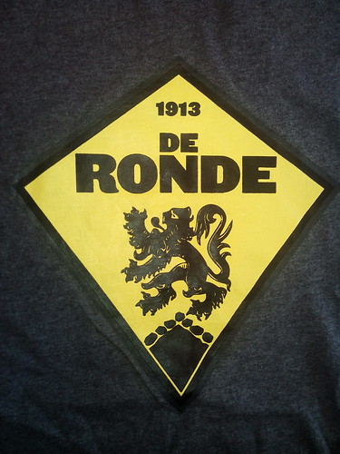 Rapha De Ronde T shirt Tour Of Flanders