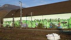 Graff in Dauphin (brigraff) Tags: streetart grenoble drink chartreuse panasonic urbanart liqueur bebida boisson licor isre arturbain likr voiron neargrenoble tz60 panasonictz60 brigraff gertrnk artedelacale dauphn