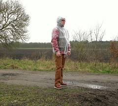 Jeantex Regenjacke transparent (Nordsee2011) Tags: raincoat rainwear regenjacke jeantex regenmantel rainclothes regenkleidung regenbekleidung pvcjacke