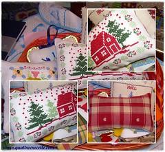 Lav 62 (Quattrocrocette) Tags: winter crossstitch handmade linen redhouse cotton inverno lino puntocroce casarossa cotone fattoamano quattrocrocette