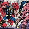 "The Asgardian vs The Barbarian. #Thor #HappyThorsday #Conan #RobertEHoward #Marvel #comics #dfatowel • <a style=""font-size:0.8em;"" href=""https://www.flickr.com/photos/130490382@N06/16107543824/"" target=""_blank"">View on Flickr</a>"