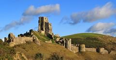 Corfe Castle, Dorset 271214 (2) (Richard Collier - Wildlife and Travel Photography) Tags: castle history landscape dorset historical nationaltrust corfecastle