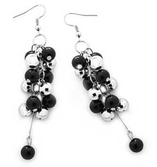 5th Avenue Black Earrings P5110A-4