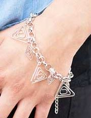 5th Avenue Silver Bracelet K1 P9210A-4