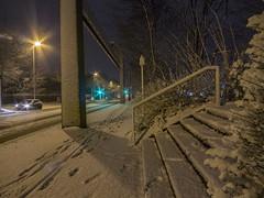 Schnee in Dortmund