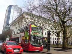 Introducing Bronwynn a New Bus for Birmingham (metrogogo) Tags: bus buses 9 400 audi westmidlands doubledecker enviro nationalexpress redcar redbus bronwynn mmcs enviro400mmcs