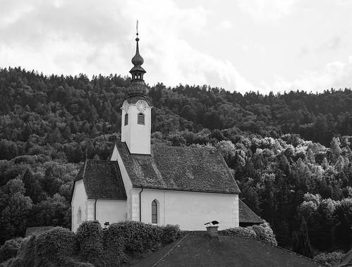 Maria Wörth. Летняя церковь