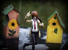 [figma] Makise Kurisu (Kazetori) Tags: max anime smile rain toy photography factory good manga company kurisu jfigure makise steinsgate