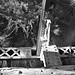 Through Truss Railroad Bridge at Rowlett Creek, Plano, Texas 1411261451bw