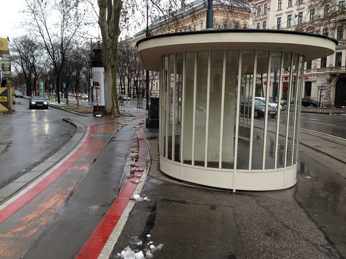 Tram Shelter - Ringstrasse at Schwarzenbergplatz - Jan 2015 - 6