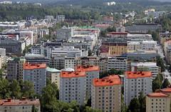 IMG62045. View to Lahti (Timo-Pekka Heima) Tags: finland lahti maisema kaupunki asuminen kerrostalot asunnot