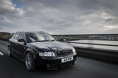 A4 Avant (Luke Mochan) Tags: road bridge sky black car clouds scotland nikon dundee tay german roller roll rollers a4 audi avant rolling vag b6 d7000