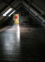 De grote zaal boven
