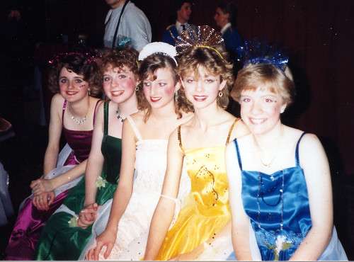 1987 Sleeping Beauty 12 (from left Denise Turner, Sarah Fielding, Natalie Ann Boswell, Lyndsay Gunn, Georgina Roddis