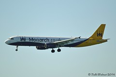 DSC_0426 G-OZBG (Nabil Molinari Photography) Tags: 2003 nice monarch airbus cote dd airlines industrie current ff 1941 aerospace cit dazur 22003 lfmn nce 32003 bjcp a321231 gozbg v2533a5 400a02 viewdavxc