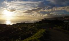 Arai te Uru 5 (Markj9035) Tags: sunset sea newzealand lake ferry coast lakes windswept coastline northland ahipara northlands oponomi