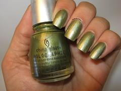 Desafio das 31 unhas - unha 8 - cor metalicas (Nirvana (Nails by Nina)) Tags: china ufo glaze omg unhas desafio