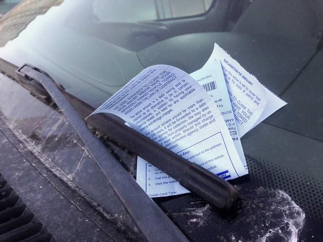 How About That, More Parking Tickets