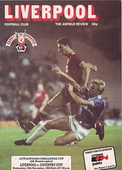 Liverpool vs Coventry City - 1986 - Cover Page (The Sky Strikers) Tags: road city cup liverpool crown coventry paints wembley anfield littlewoods