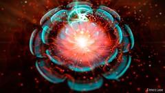 @noth3r Fl0w3r (hypnotic_gnome) Tags: photoshop digitalpainting flame fractal jwildfire
