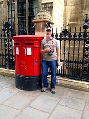 Photo of Post box by Westminster Abbey