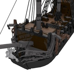 06-Black_Pearl-final (Skyrunner42) Tags: black game jack video ship lego pirates sparrow pirate caribbean pearl