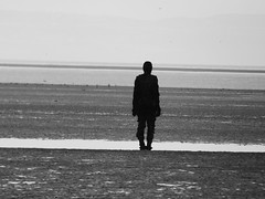 Antony Gormley:Another Place (Darren-Holes) Tags: sculpture art liverpool crosby antonygormley anotherplace