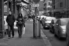 Langstrasse (Thomas8047) Tags: people urban blackandwhite bw streetart blancoynegro monochrome photography schweiz switzerland nikon foto candid strasse zurich streetphotography streetscene zrich onthestreets zri langstrasse vbz schwarzundweiss 175528 streetpix d300s streetartstreetlife snapseed thomas8047 langstrassezrich
