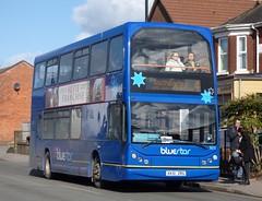 Blue Star 1806 (HX51 ZRG) Southampton 2/3/15 (jmupton2000) Tags: uk blue bus star coast volvo south line east dorset solent southampton bluestar lancs goahead wilts b7tl vyking hx51zrg