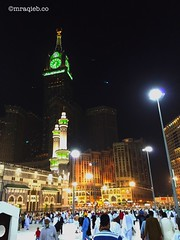 In the night in masjidil haram #makkah #mecca #masjidilharam #mekkah #amazing #tower (mraqieb) Tags: tower amazing mecca makkah mekkah masjidilharam