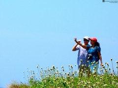 Couple on the Galle fort