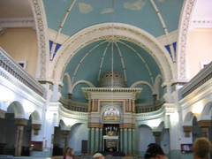 Inside the Choral Synagogue