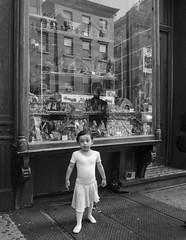 D7K_1643_ep_gs (Eric.Parker) Tags: nyc bw usa newyork reflection window girl dance ballerina child dancer bigapple 2014