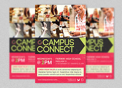 Campus Connect Church Flyer Template (godserv) Tags: college church modern campus poster flyer colorful god jubilee ministry prayer jesus christian highschool invitation convention mission conference pastor commission sermon template gospel outreach crusade connect goodnews evangelism evangelist godserv