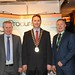Showtel George Harrington & David Noone, Procure Wizard and Stephen McNally, IHF President