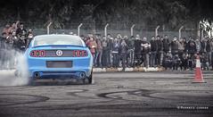 Mustang (Muhaned Jubran) Tags: blue cars ford car canon iraq baghdad canon5d mustang muhanedjubran