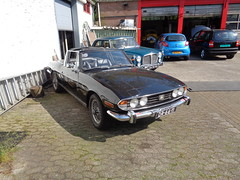 1971 Triumph Stag (Skitmeister) Tags: dr6611 dh7898 skitmeister car auto pkw carspot