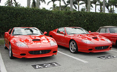 Ferrari 575M Superamerica (x2) (SPV Automotive) Tags: ferrari 575m superamerica convertible exotic sports car supercar red