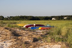 kayaks (Krista Day) Tags: coast capecod eastham